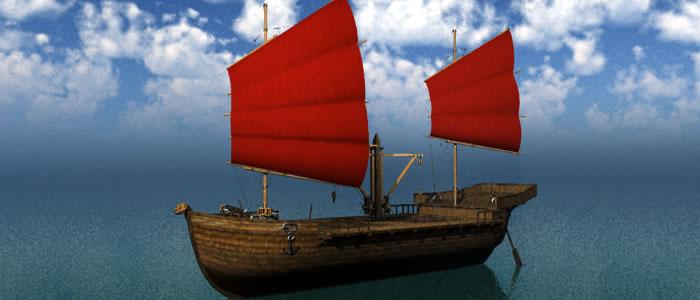 Orc Merchant Ship 3D Model