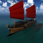 Orc Warship 3D Model in Mirye Store