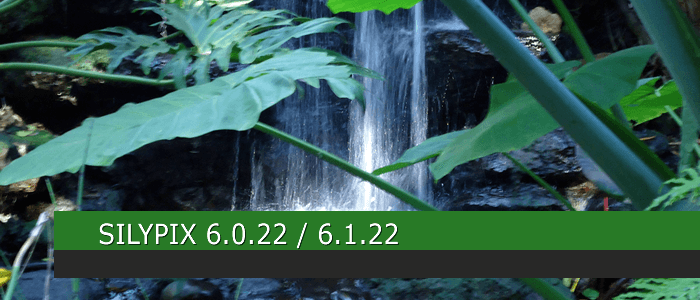 SILKYPIX 6.0.22 / 6.1.22