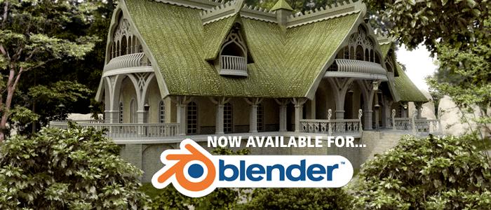 Elven Village Volume 1 for Blender Now Available