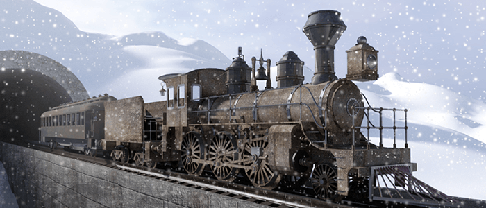 Meshbox Christmas Train on OneRender