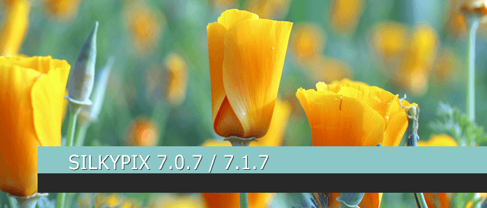 SILKYPIX DS 7.0.7 / 7.1.7