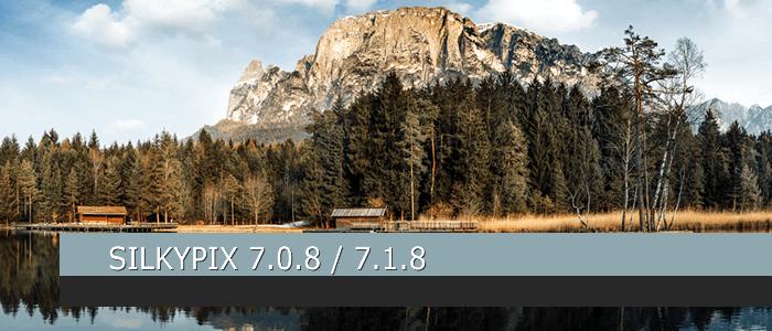 SILKYPIX 7.0.8 / SILKYPIX 7.1.8 Released