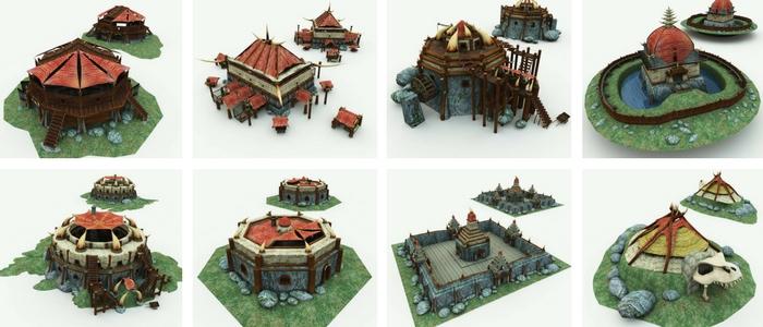 Orc Village Volume 1