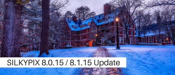 SILKYPIX Ver.8.0.15 Released