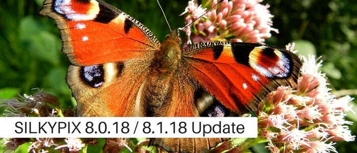 SILKYPIXVer.8.0.18.0 Released