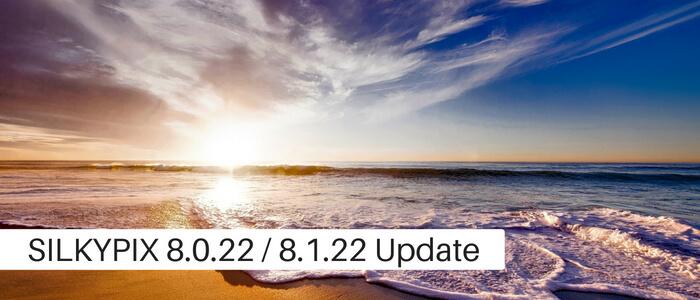 SILKYPIX Version 8.0.22 Released
