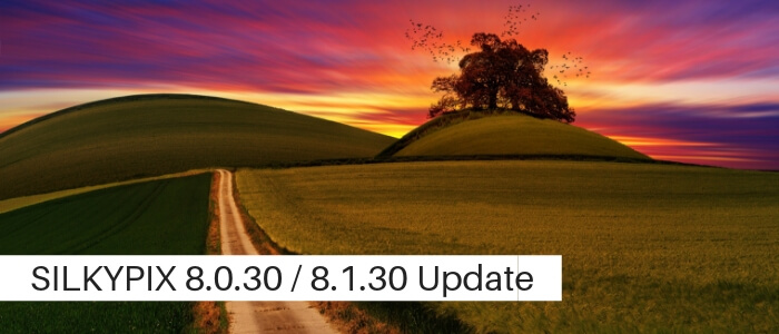 SILKYPIX 8.0.30 / SILKYPIX 8.1.30 Legacy Update Available