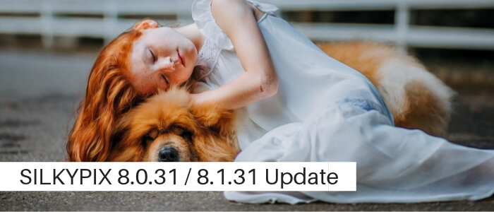 SILKYPIX 8.0.31 / SILKYPIX 8.1.31 Legacy Update Available