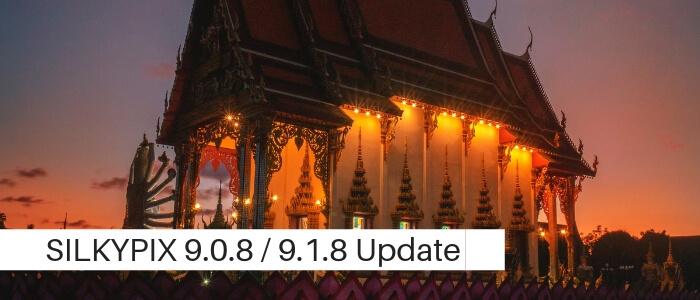 SILKYPIX 9.0.8 / SILKYPIX 9.1.8 Update Adds Nikon COOLPIX A1000 & Olympus OM-D E-M1X cameras